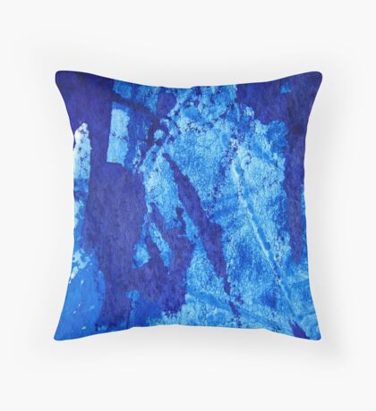 Blue Jazz Throw Pillow