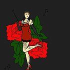 Flapper by Stephanie O'Gay Garcia