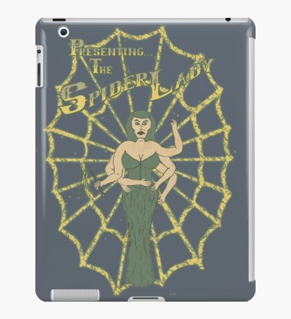 Spider Lady II iPad Case/Skin