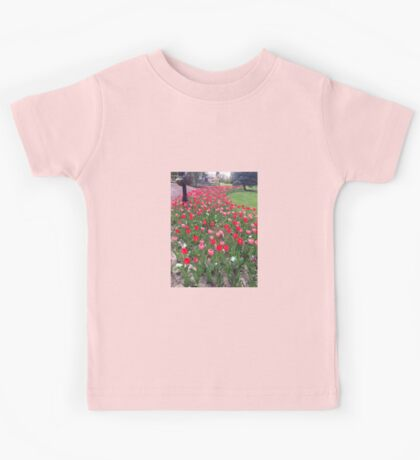 Tuesday Tulips Kids Tee