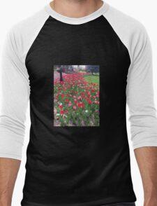 Tuesday Tulips Men's Baseball ¾ T-Shirt