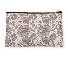 Lace seamless pattern. Studio Pouch