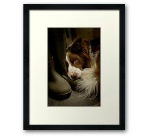 Smelly Welly Framed Print