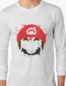 Super Mario Splash  Long Sleeve T-Shirt