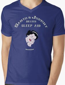Santo & Johnny Brand Sleep Aid Mens V-Neck T-Shirt