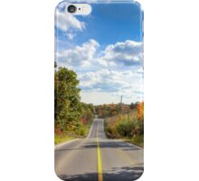 Autumn Road to Nowhere iPhone Case/Skin
