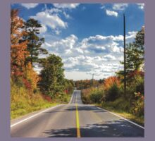 Autumn Road to Nowhere Kids Tee