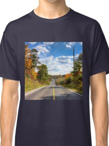 Autumn Road to Nowhere Classic T-Shirt