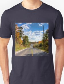 Autumn Road to Nowhere Unisex T-Shirt