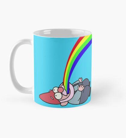 Gravity Falls Puking Gnome Mug