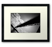 25th of April Bridge, Lisbon, Portugal Framed Print