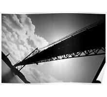25th of April Bridge, Lisbon, Portugal Poster