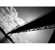 25th of April Bridge, Lisbon, Portugal Photographic Print
