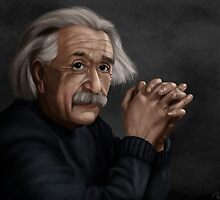 Alber Einstein by AlbanArtist