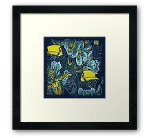 """Wild"" Birds Design / Avalon Media Framed Print"