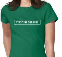 Pop Punk Sad Girl Womens Fitted T-Shirt