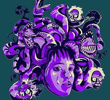 Beetlejuice Medusa by Clairekereky
