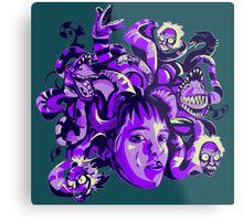 Beetlejuice Medusa Metal Print