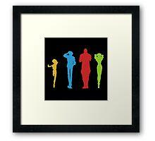Cowboy Bebop Full Team Framed Print