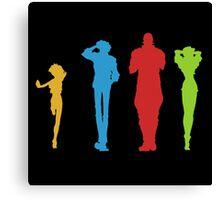Cowboy Bebop Full Team Canvas Print