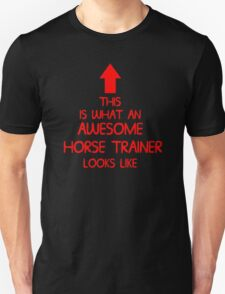 AWESOME HORSE TRAINER T-Shirt