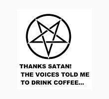 Thanks Satan! (Larger Version) Unisex T-Shirt