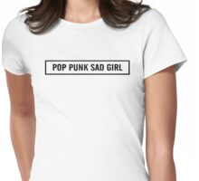 Pop Punk Sad Girl 2 Womens Fitted T-Shirt