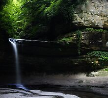 LaSalle Canyon Waterfall by Adam Bykowski