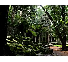 Ta Prohm Temple III - Angkor, Cambodia. Photographic Print