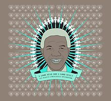 Tata Madiba - A Good Heart (in taupe) by catherine bosman
