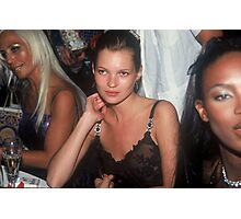 Model Kate Moss NYC 1996 Photographic Print