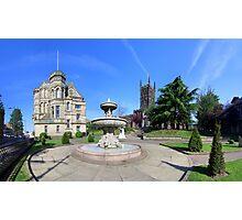 St Peters Church & Gardens - Wolverhampton Photographic Print