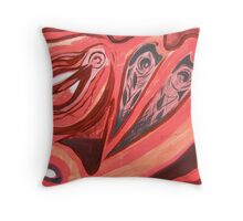 Gentle Spirits (Meditation Painting 24_2) Throw Pillow