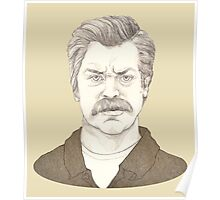 It's Ron Swanson Poster