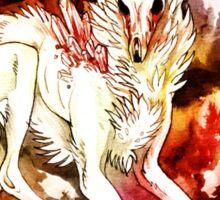 Cristal wolf Sticker