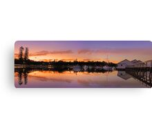 Mosman Bay At Dusk  Canvas Print
