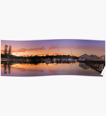 Mosman Bay At Dusk  Poster