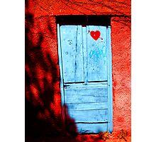 Door in love Photographic Print
