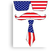 Cool classy  patriot  Canvas Print