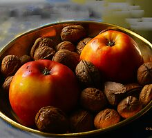 Apples and Nuts by Gilberte