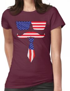 Cool classy  patriot  Womens Fitted T-Shirt