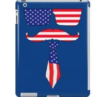 Cool classy  patriot  iPad Case/Skin