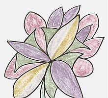 Carnivaled Flower (a Bouquet of Pastel Colours) by KazM