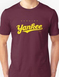 GenuineTee - Yankee (yellow) Unisex T-Shirt