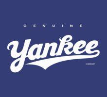 GenuineTee - Yankee (white) by GerbArt