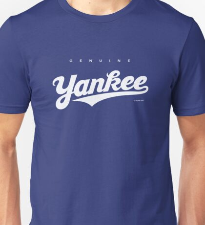 GenuineTee - Yankee (white) T-Shirt
