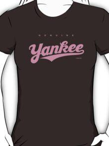 GenuineTee - Yankee (purple) T-Shirt