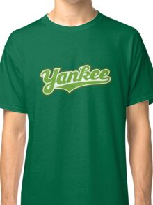 GenuineTee - Yankee(greenwhitegreen) Classic T-Shirt