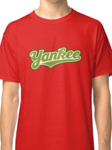 GenuineTee - Yankee(greenwhitegreen) Classic T-Shirt