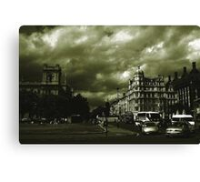 The City Green. Canvas Print